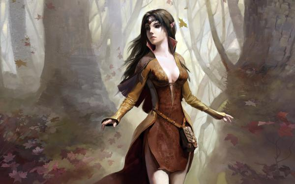 Nature Of Romantic Sorceress