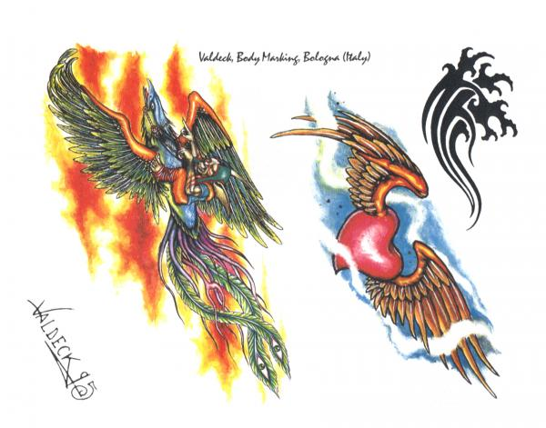 Design Of Mysterious Tattoo 1