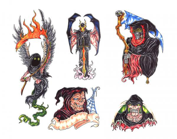 Mysterious Tattoo Design 7