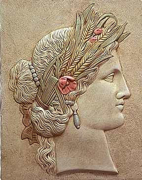 Greek Goddess Ceres