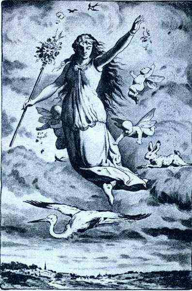 Greek Goddess Eostre