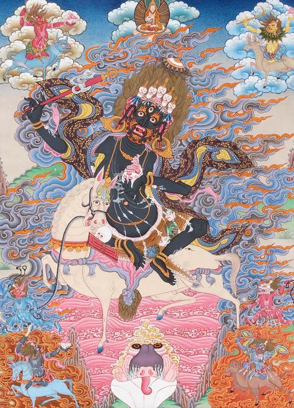 Goddess Palden Lhamo, Gods And Goddesses 6