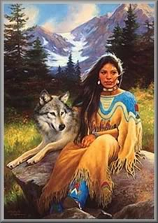 La Loba The Woman Wolf