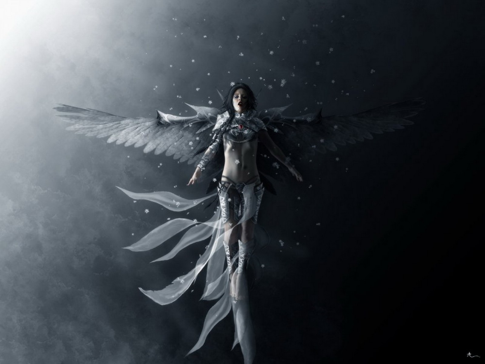 Angel Of Snow Wind