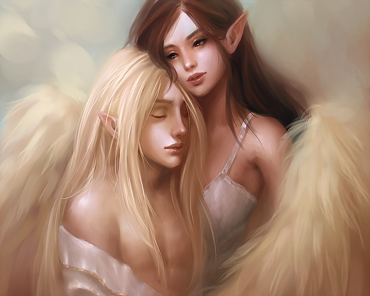 Love Between Two Angels