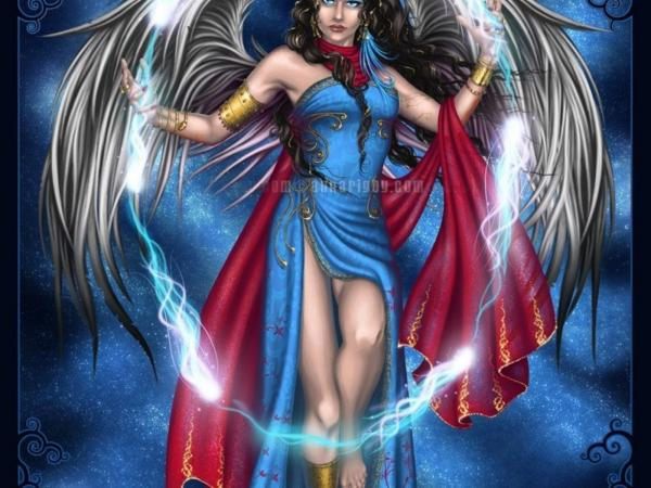 Supernal Angel Lady