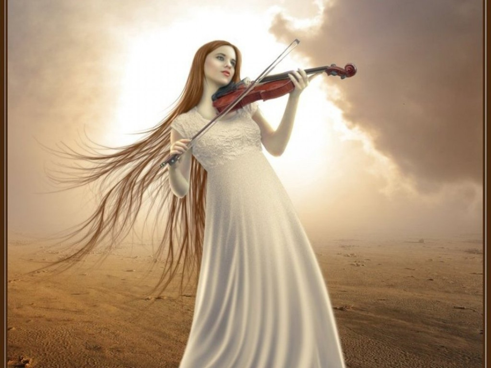 Song Of The Old Violin In The Field Of Sorrow