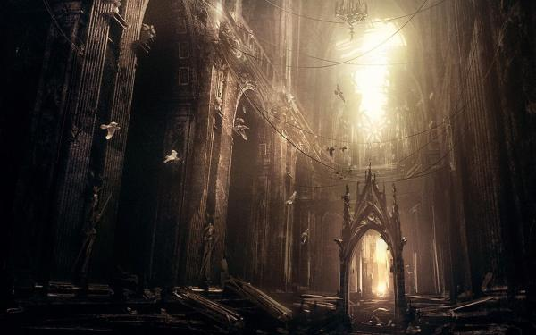 Abandoned Gothic Cathedral