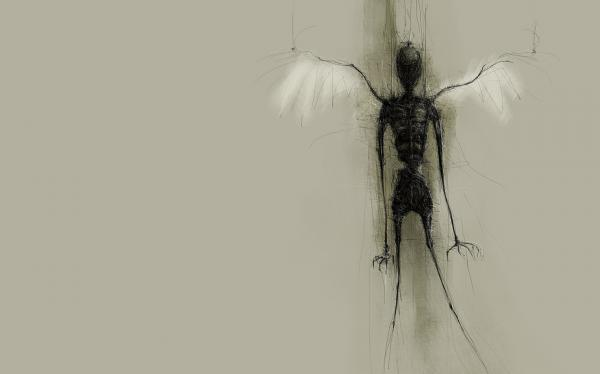 Dark Angel Insect
