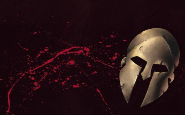 Iron Mask And Blood