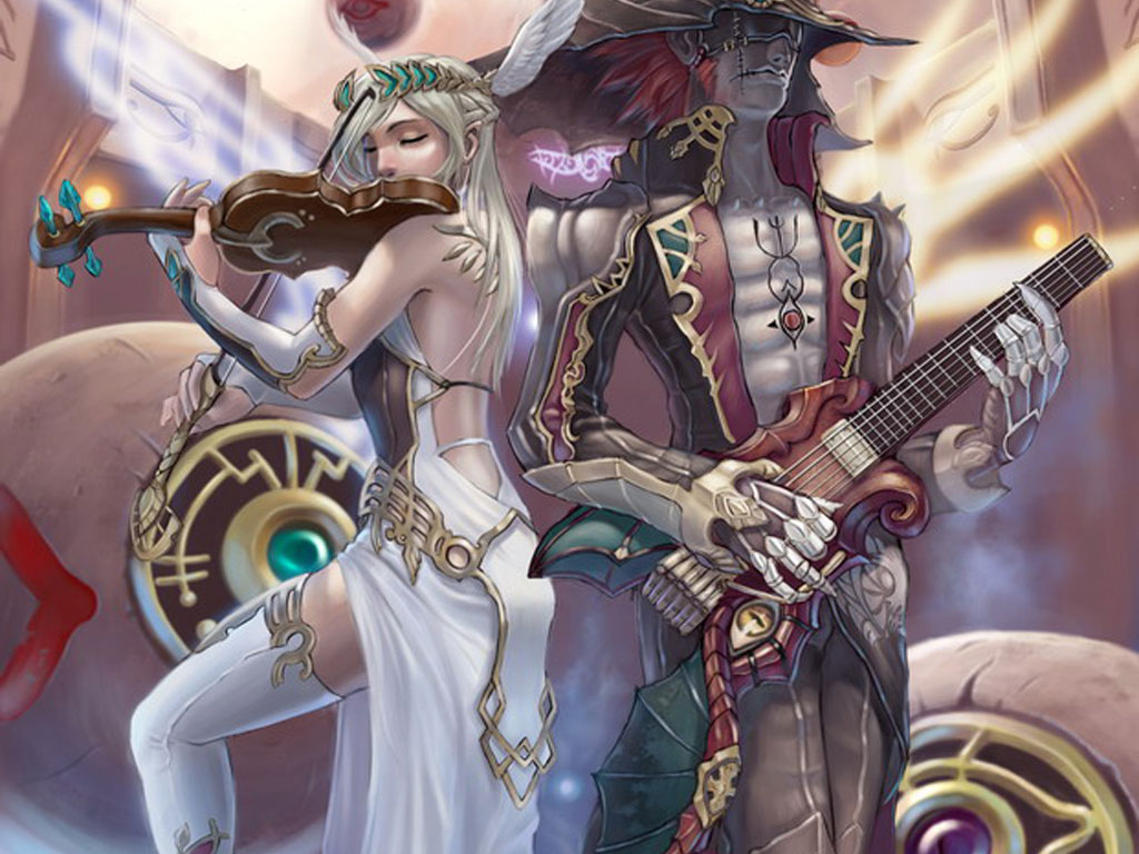 Elven Musicians, Fairies 1