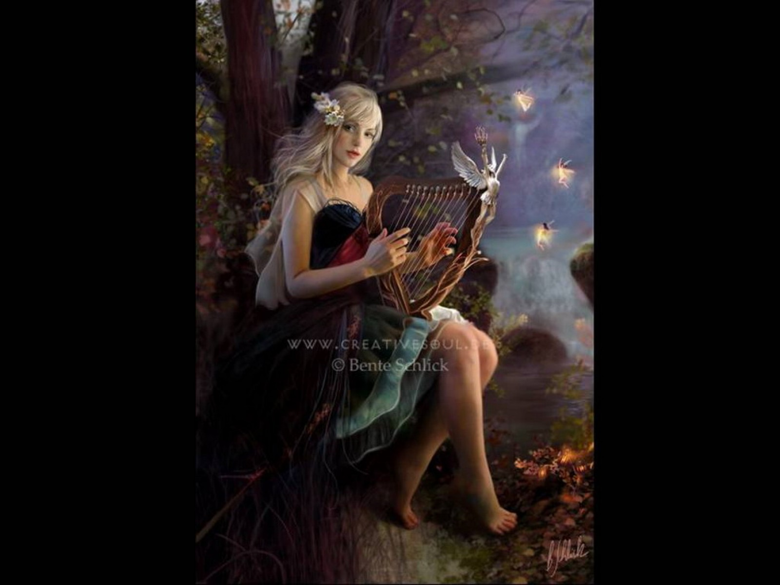 Harp Song Of Spring, Fairies 1