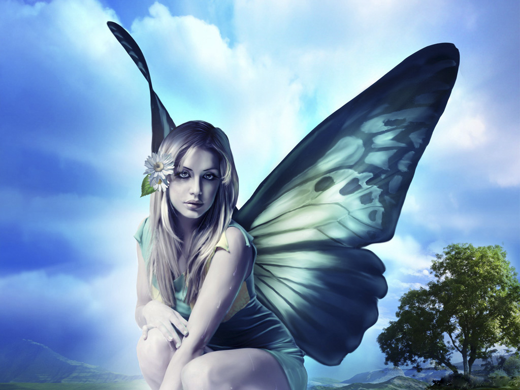 Beauty Of Enigmatic Faerie