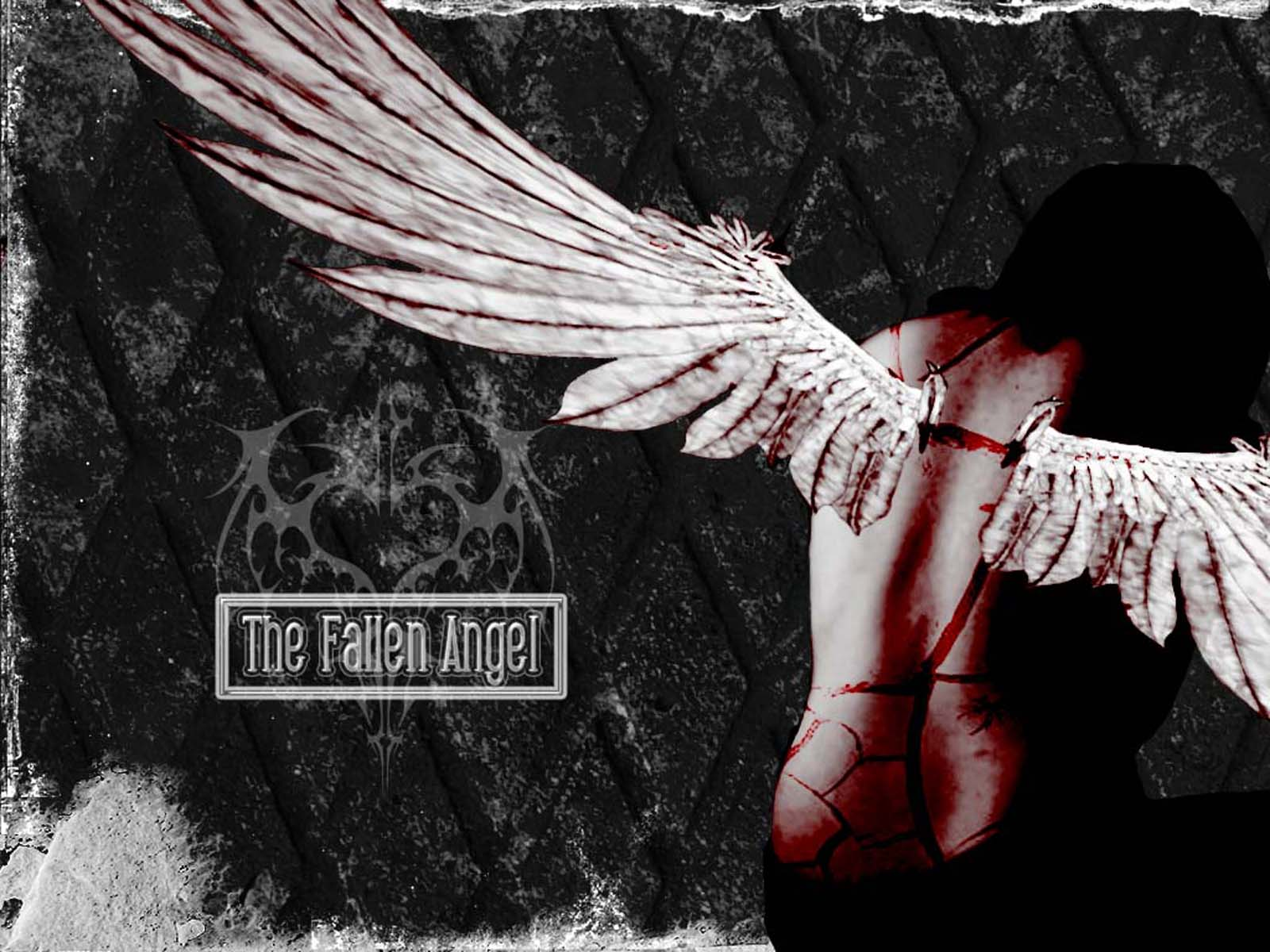 The Fallen Angel By Frozenflamme