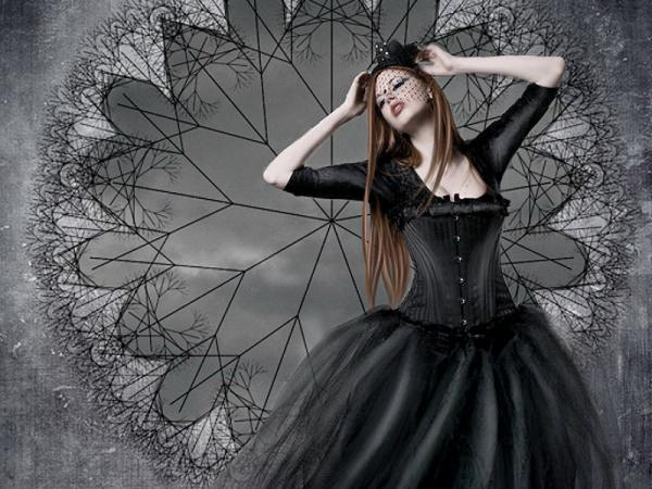 Gothic Dream Of A Girl