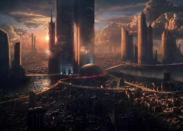 City On Rise Of Civilization