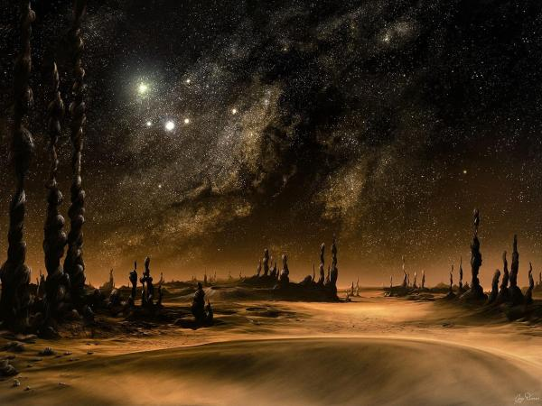 Planet Of Sand, Magick Lands 2