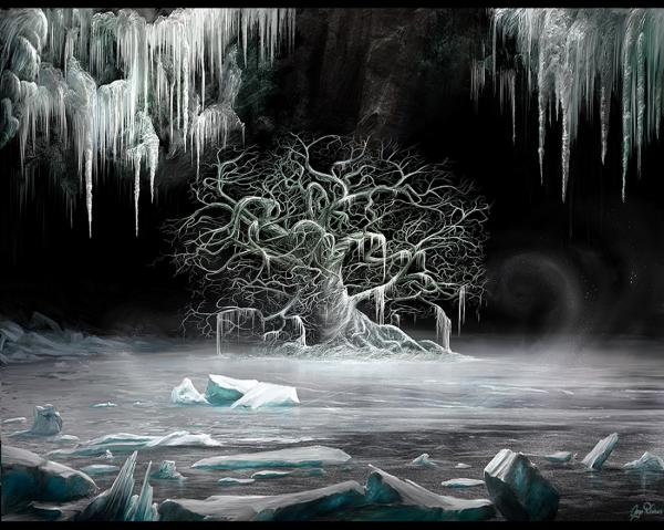 White Tree Of Ice