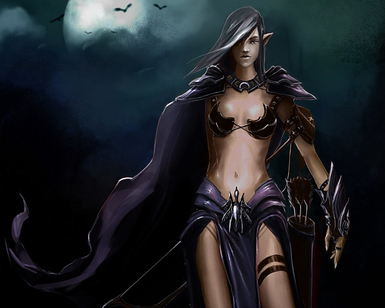 Dark Elf Warrior